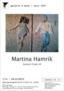Martina Hamrik in der Galerie m beck
