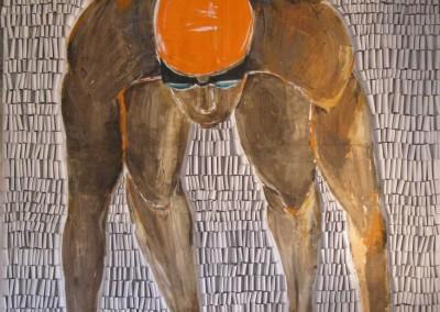 Absprung | 130 x 150cm