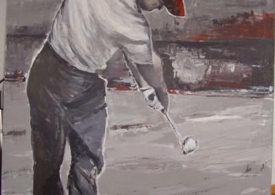 Golfer1 | 100 x 120cm