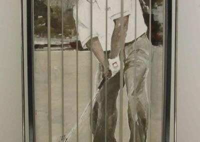 Drehbild Golfer1 | 120 x 185cm