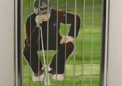Drehbild Golfer 2 | 120 x 185cm