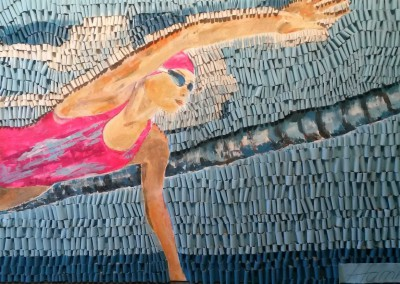 Kraulerin pink | 100 x 180cm
