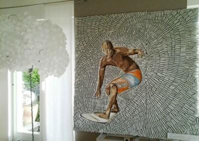Surfer | 160 x 160cm