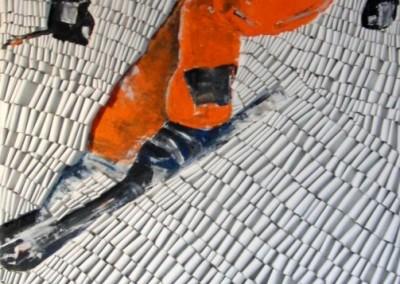 Skifahrer1 | 80x160cm