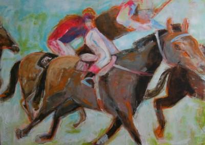Pferderennen | 100x120cm