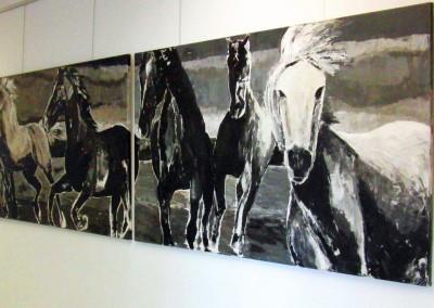 Pferdeherde | 100x300cm