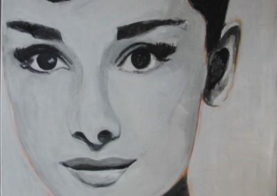Audrey | 100 x 100cm