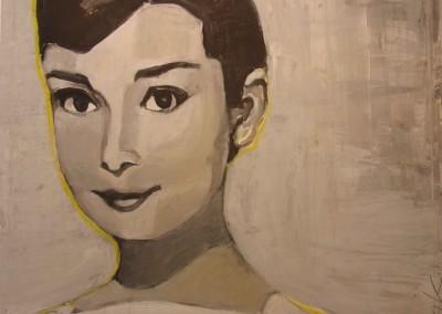 Audrey 2 | 100 x 100cm