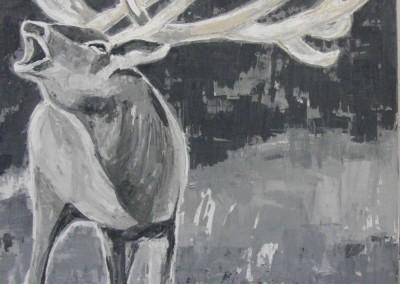Hirsch | 109 x 114cm