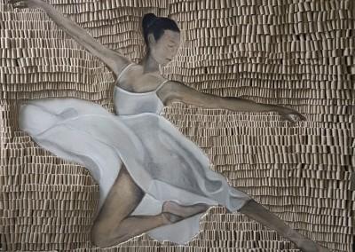 Ballerina beige110 x 140 cm