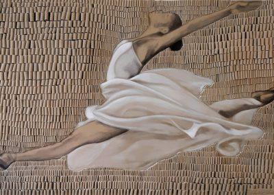 Ballerina beige _115 x 180 cm